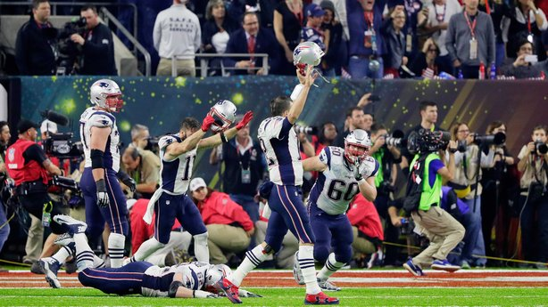 New England Patriots pulled off a historic comeback to win Superbowl LI image: rte.ie