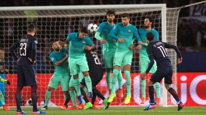 Barcelona suffered a joint-record Champions League defeat to PSG image: qsportslive.com
