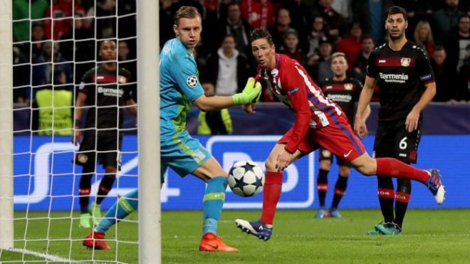 Fernando Torres header sees Atletico take a two-goal cushion into the second leg image: norrionews.com