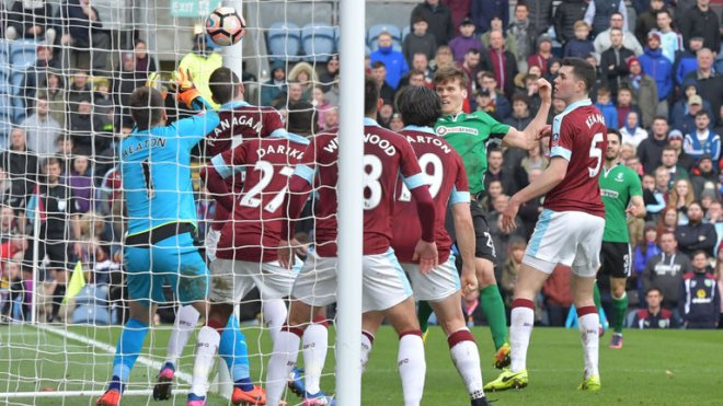Lincoln stunned Burnley at Turf Moor to bag a quarter-final against Arsenal image: skysports.com