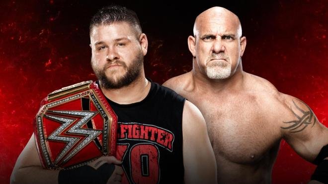 Goldberg looks to win his first title in WWE since 2003 image: wwe.com